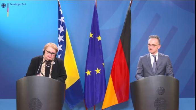 BiH: Turković se sastala sa Maasom u Berlinu