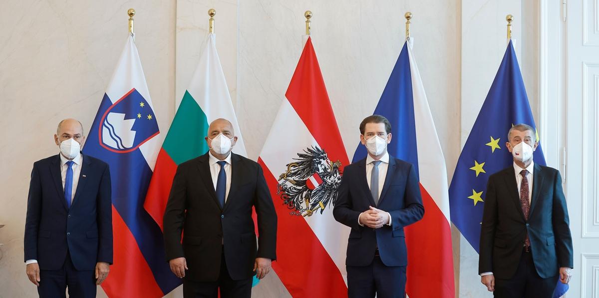 Janša prisustvovao sastanku o vakcinama u Beču