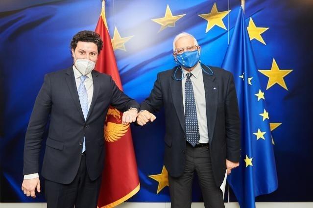 Crna Gora: Abazović se sastao sa Borrellom u Briselu