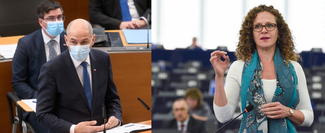 Slovenija: Janša optužio evroparlamentarku Sophie in 't Veld za cenzuru, zahteva ostavku