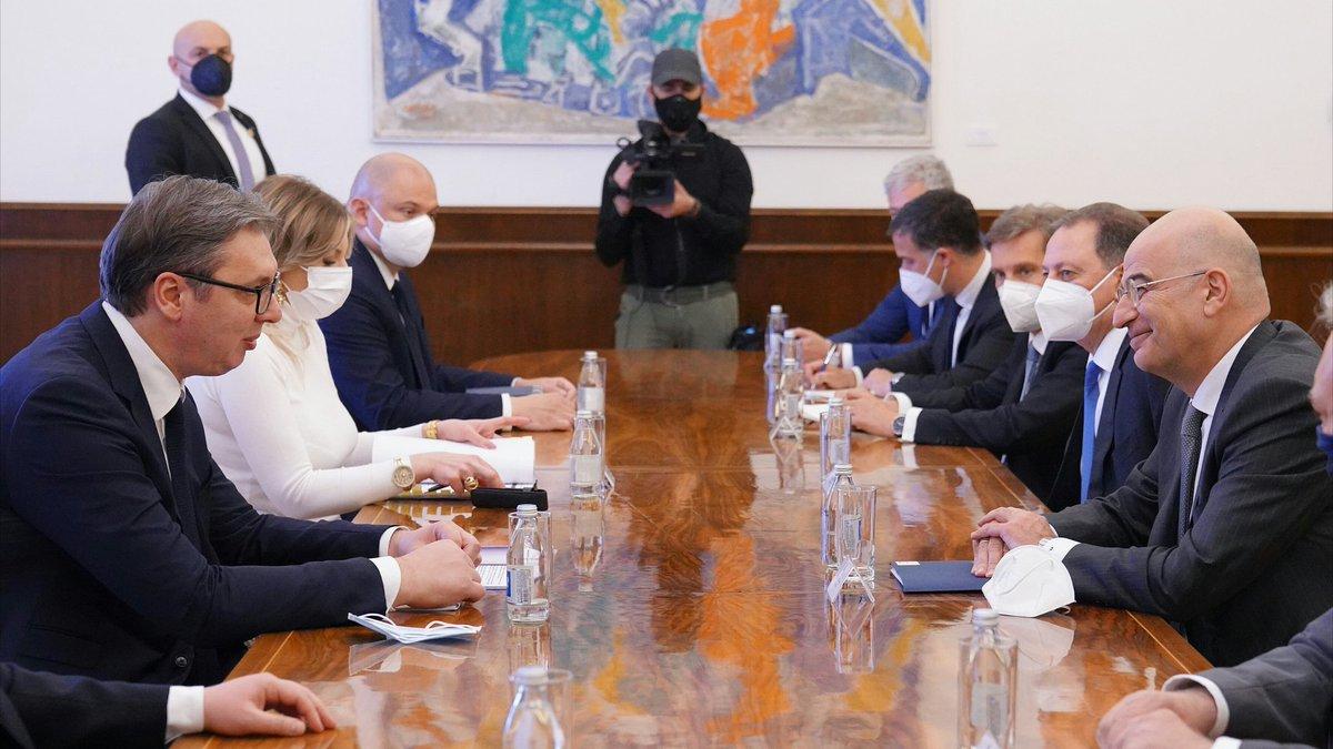 Srbija: Vučić zahvalio Grčkoj na kontinuiranoj podršci na putu ka članstvu u EU