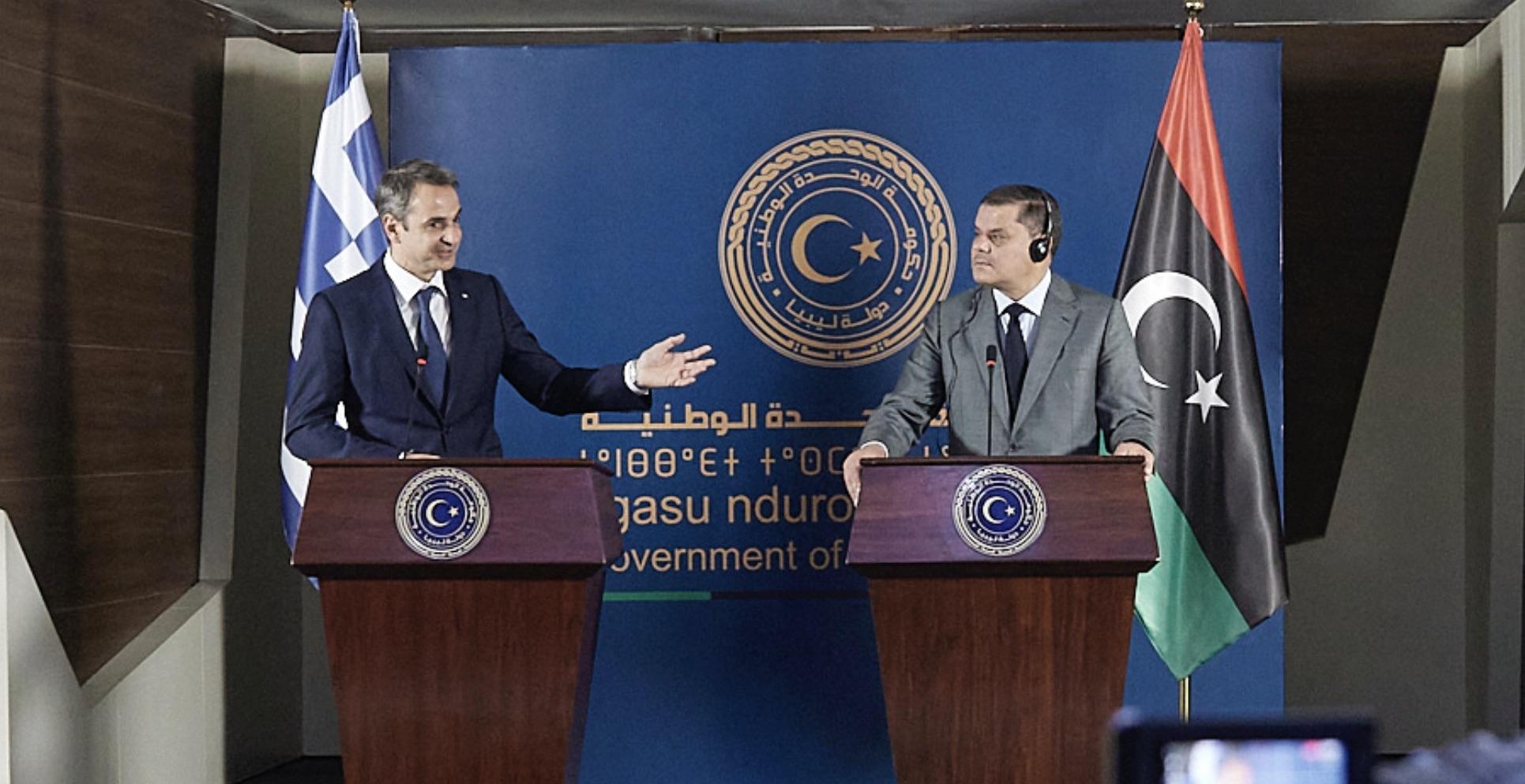 Libijski premijer traži od Mitsotakisa da formira zajednički odbor Libije, Turske i Grčke