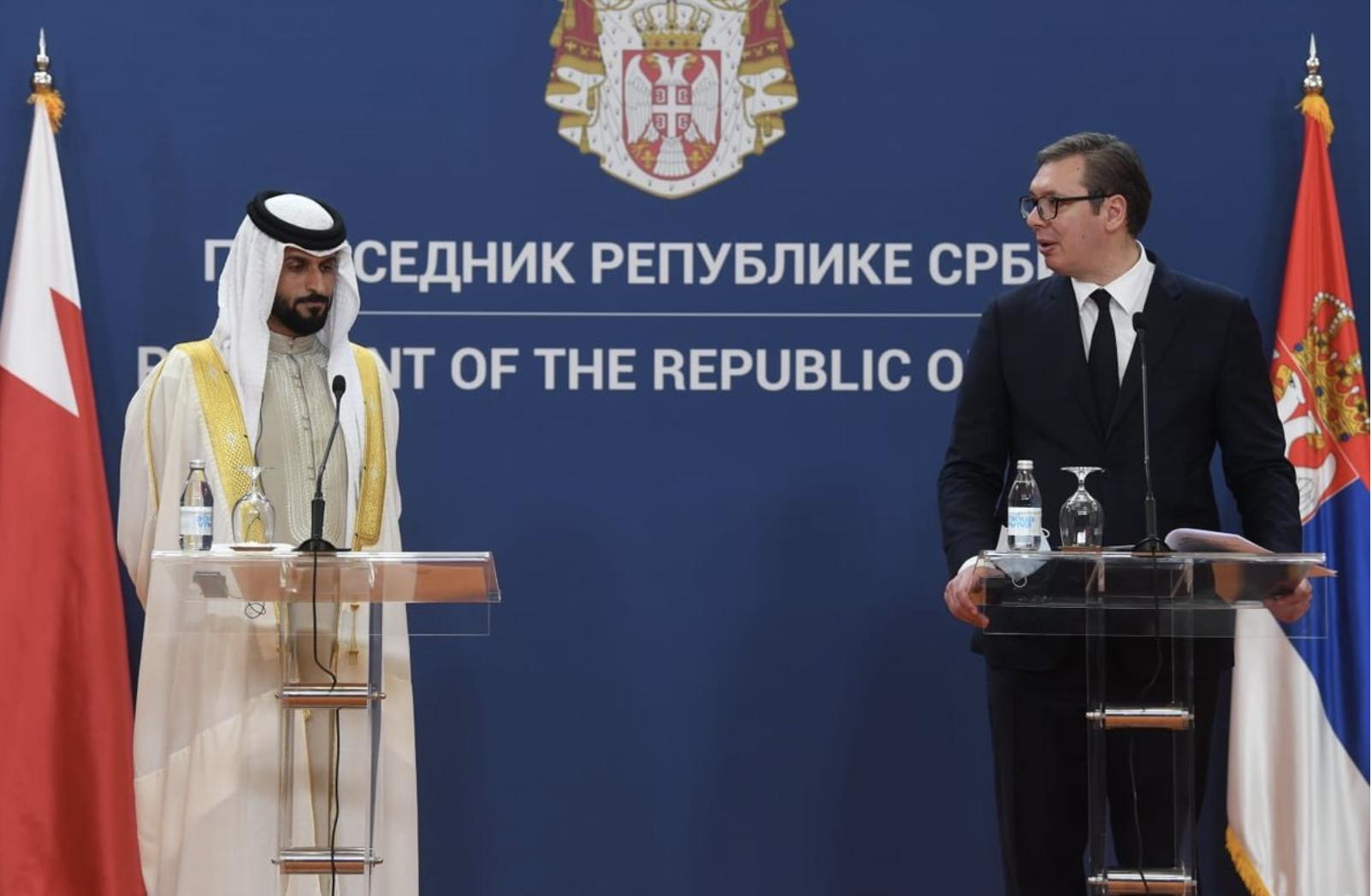 Srbija: Delegacija Bahreina posetila Srbiju