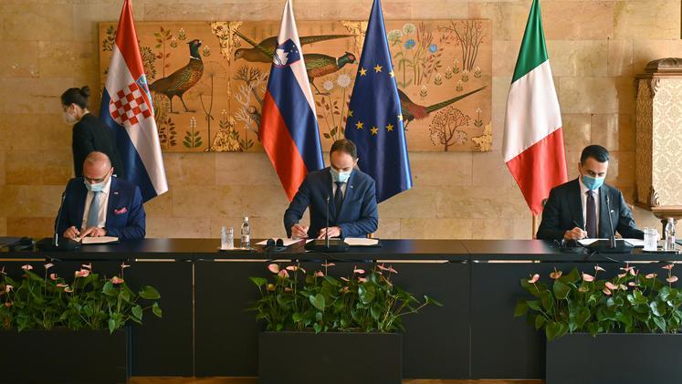 Slovenija, Italija i Hrvatska potpisale zajedničku izjavu o saradnji u severnom Jadranu