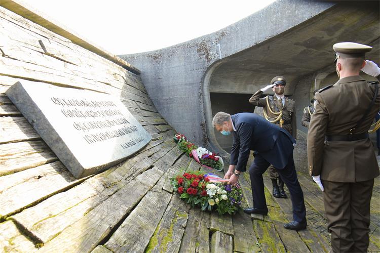 Hrvatska: Državni zvaničnici obeležili godišnjicu proboja iz logora Jasenovac, ali u podeljenoj atmosferi