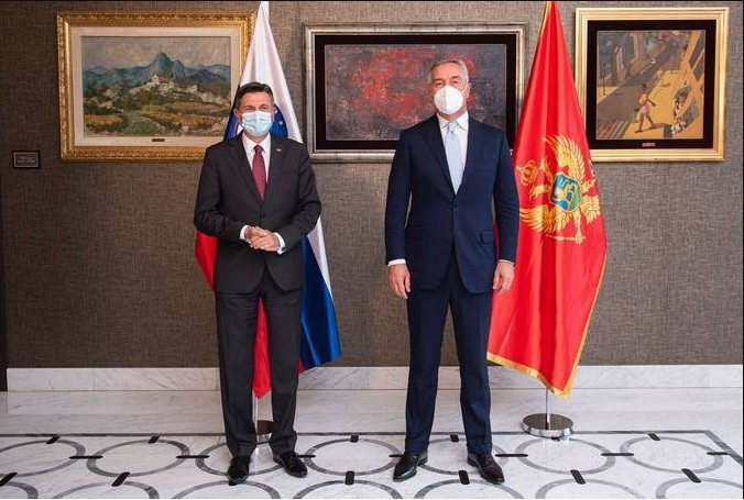Slovenija: Predsednik Pahor u radnoj poseti Crnoj Gori