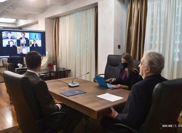 Crna Gora: Krivokapić sa saradnicima razgovarao sa delegacijom EBRD