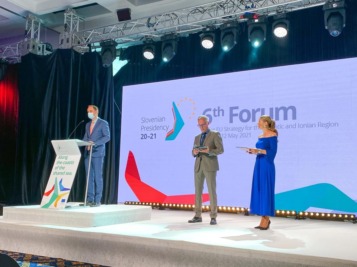 Slovenia: Logar otvorio 6. forum Strategije Evropske unije za Jadransko-jonsku regiju