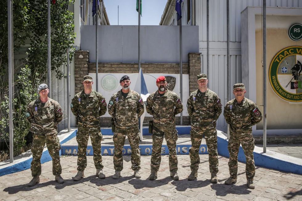 Vojska Slovenije završila misiju u Avganistanu