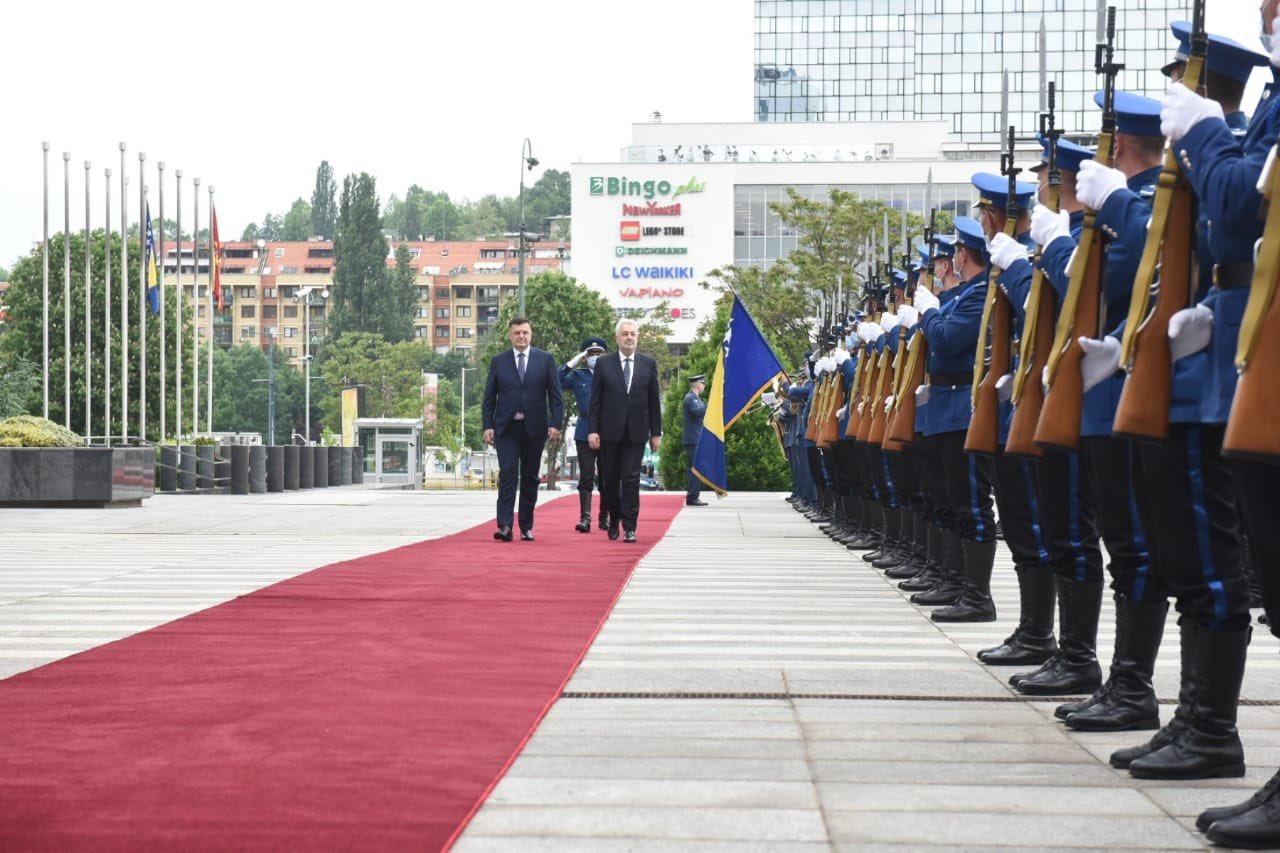 BiH: Crnogorski premijer boravi u dvodnevnoj zvaničnoj poseti