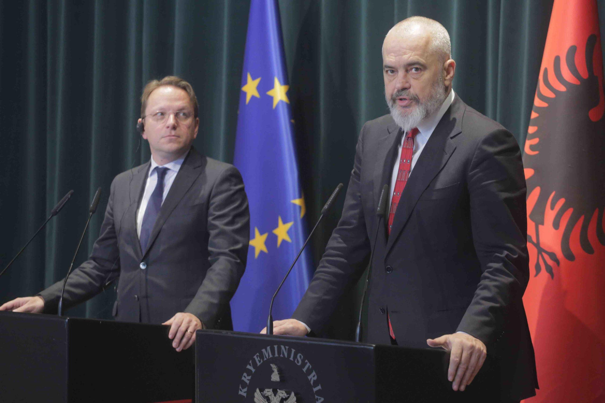 Rama i Varhelyi će predsedavati Samitom zemalja Zapadnog Balkana 10. juna u Tirani