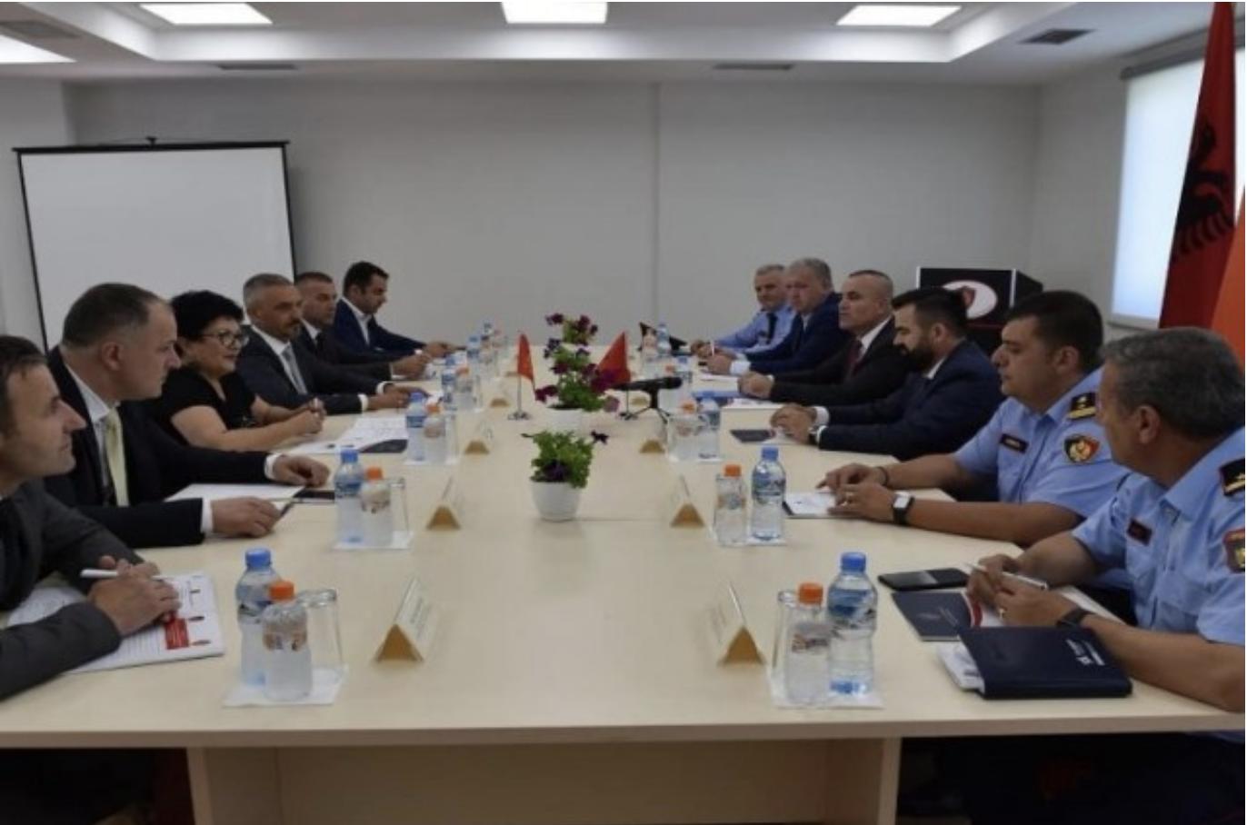 Albanija i Crna Gora potpisale protokol o saradnji policijskih snaga