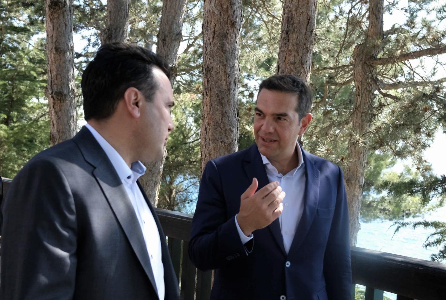 Zaev i Cipras se sastali u Ohridu
