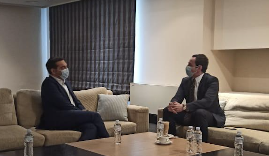 Tsipras Kurtiju: Mir na Balkanu se može graditi isključivo na zajednički prihvatljivim rešenjima u skladu sa međunarodnim zakonima