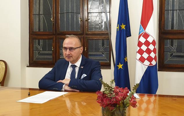 Ministar Grlić Radman osudio pretnje hrvatskom predstavniku u Crnoj Gori