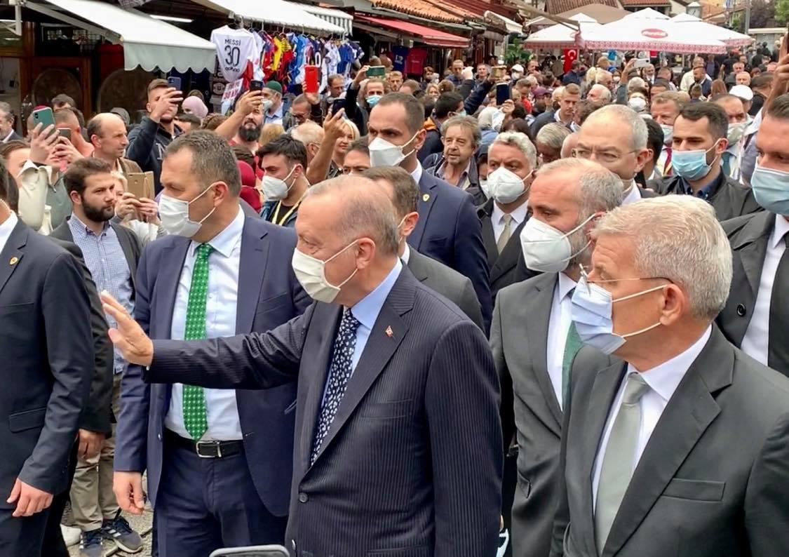 BiH: Erdogan na venčanju Izetbegovićeve kćerke a zatim na sastanku sa članovima Predsedništva