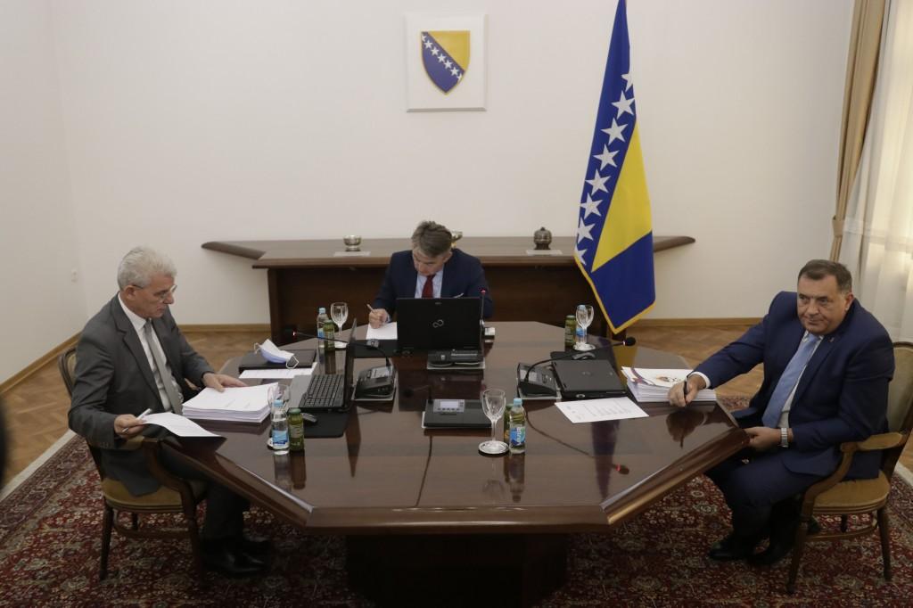 BiH: Dodik sprečio usvajanje odluka u Predsedništvu BiH