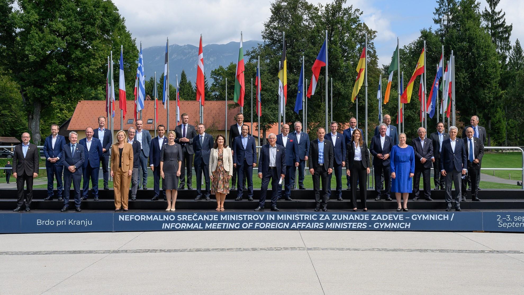 Ministri spoljnih poslova EU na Brdu kod Kranja se fokusirali na napore Unije u Avganistanu