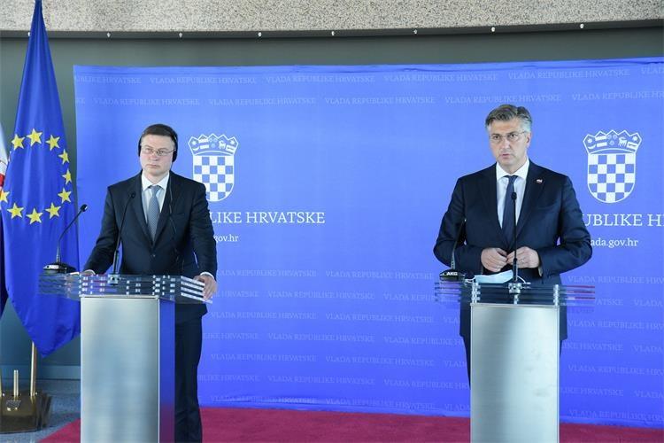 Hrvatska će biti spremna za evrozonu, smatra premijer Plenković