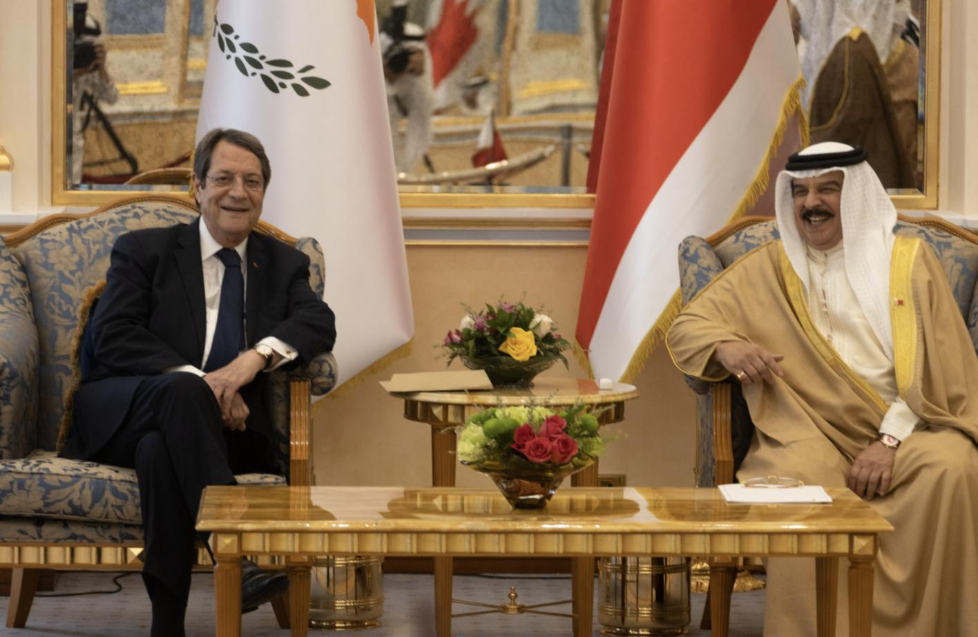 Kipar: Predsednik Anastasiades u zvaničnoj poseti Bahreinu