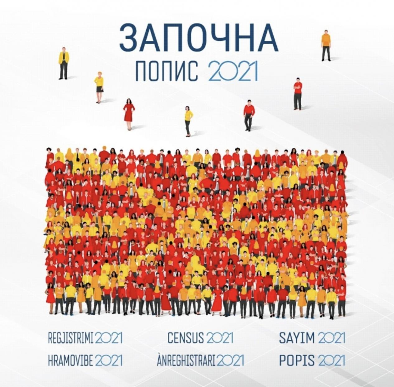 Popis stanovništva u Severnoj Makedoniji prolazi zadovoljavajućim tempom i bez problema