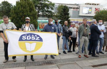Državni službenici BiH protestovali u Sarajevu