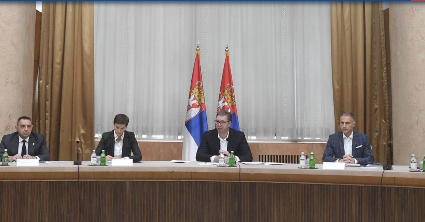Srbija: Sastanak Saveta za nacionalnu bezbednost
