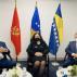 Osmani, Komšić i Đukanović zabrinuti zbog situacije u regionu
