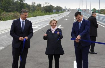 BiH: Von der Leyen prisustvovala ceremoniji otvaranja mosta Svilaj