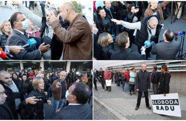 Hrvatska: Grupa građana čekala ministra zdravlja kako bi protestovali protiv novih mera