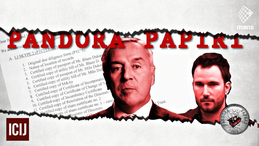 """Crna Gora: Predsednik Đukanović će biti ispitan zbog """"Pandora papers""""-a"""