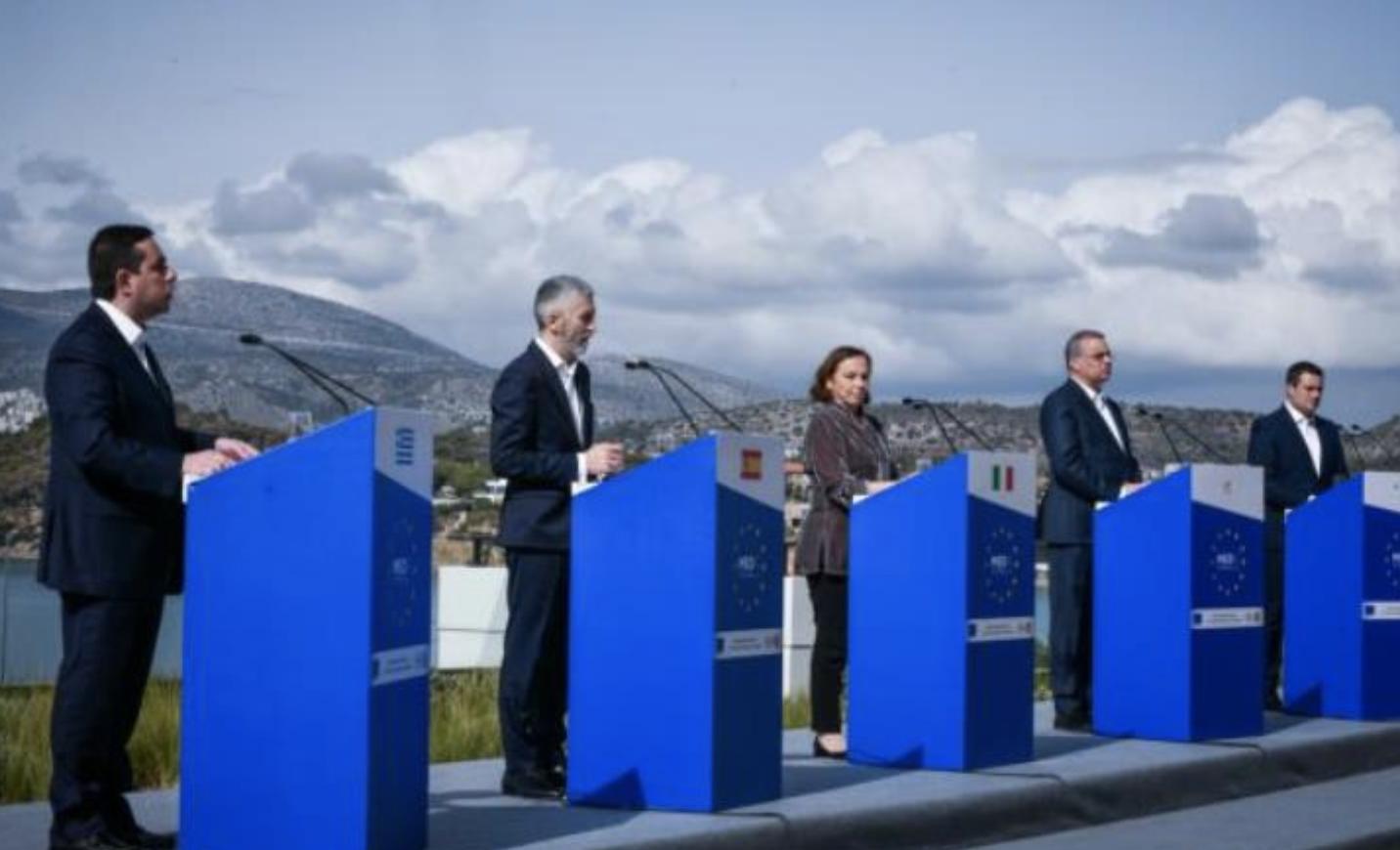 """Kipar: """"Zelena linija"""" u zajedničkom pismu pet ministara unutrašnjih poslova mediteranskih zemalja o migracijama"""